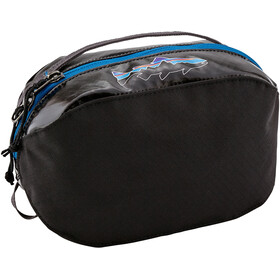 Patagonia Black Hole Cube Toiletry Bag small, black w/fitz trout